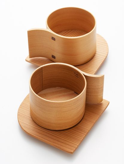 wooden love cups